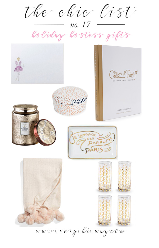 Hostess Gifts Holiday Gift Guide The Chic List Every